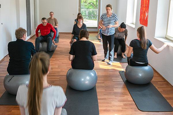 Kurse für mehr Beweglichkeit