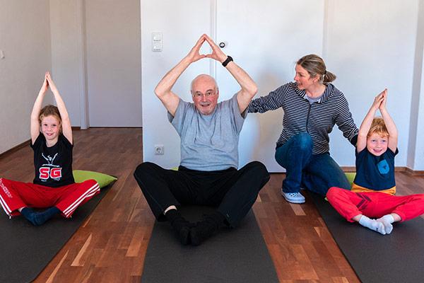 Sensomotorische Beweglichkeitskurse für jung und alt